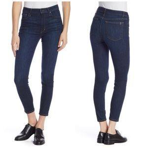 Joe's High Rise Charlie Skinny Jeans In Clementine